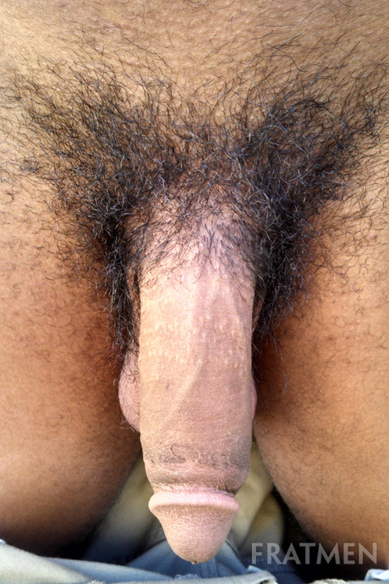 Tube black red cock big