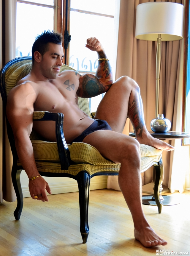 Emilio Calabria  Italian Muscle Hunk  Gay Porn Pictures -8087