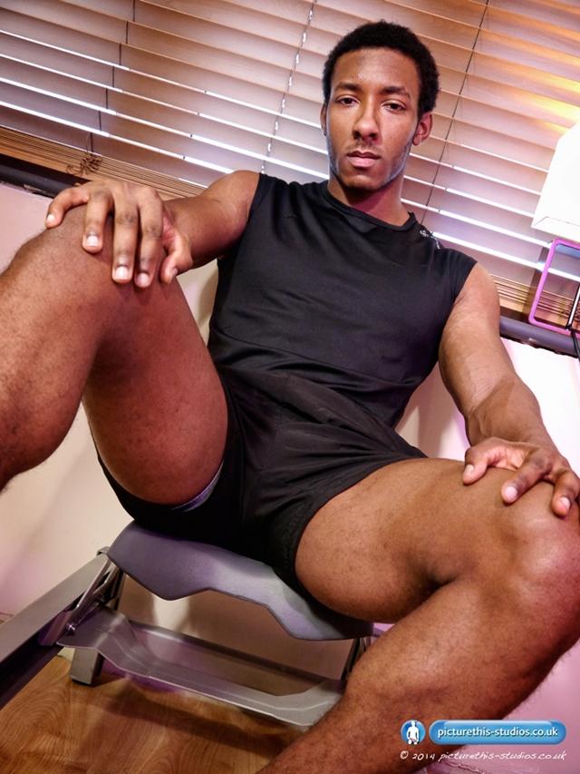 Uncut nude dick men black