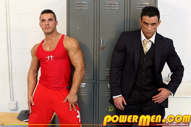 Macho Nacho and Joey van Damme