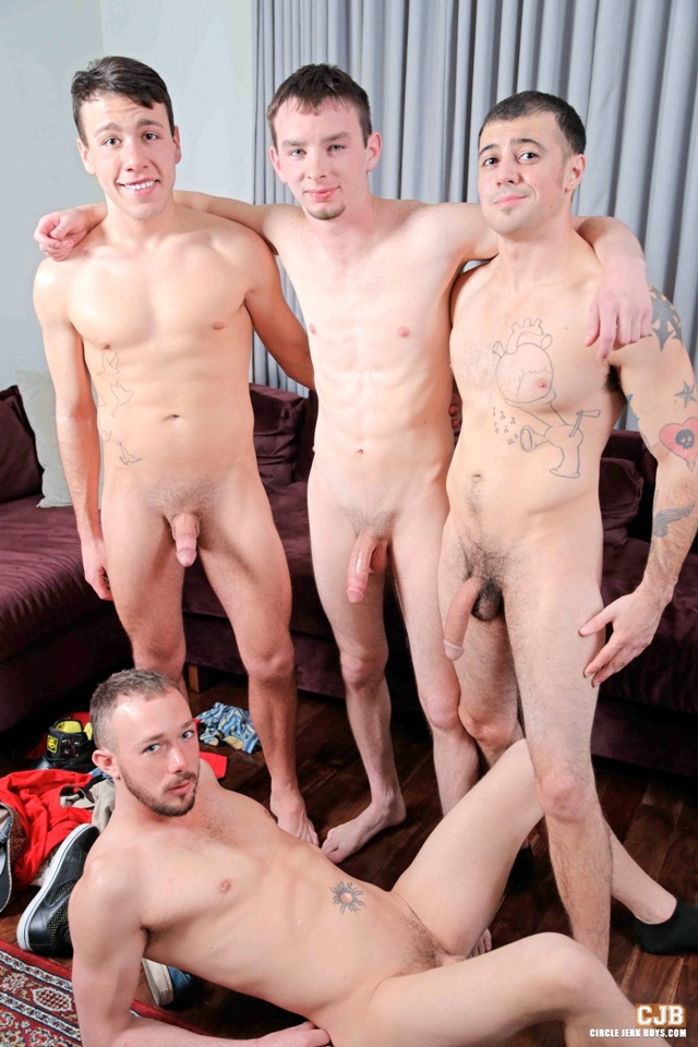 Look Circle jerk orgy beautiful Venezuelan