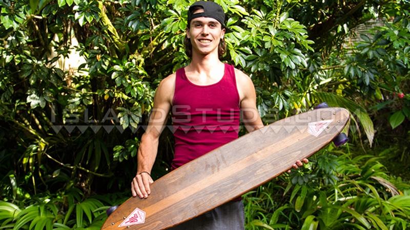 island studs  Skater boy Lyle