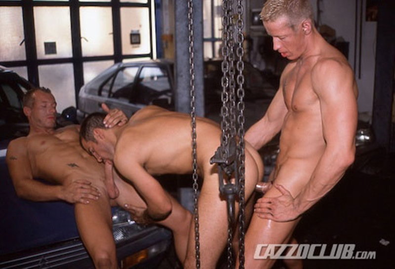 cazzo club  CazzoClub Andy Nickel Jack Janus Patrik Ekberg mechanic car workshop overalls tight ass fingered fuck ass 004 tube download torrent gallery sexpics photo Andy Nickel, Jack Janus and Patrik Ekberg