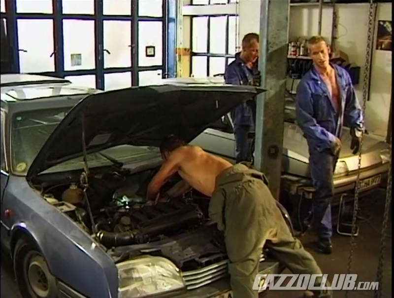 cazzo club  CazzoClub Andy Nickel Jack Janus Patrik Ekberg mechanic car workshop overalls tight ass fingered fuck ass 006 tube download torrent gallery sexpics photo Andy Nickel, Jack Janus and Patrik Ekberg