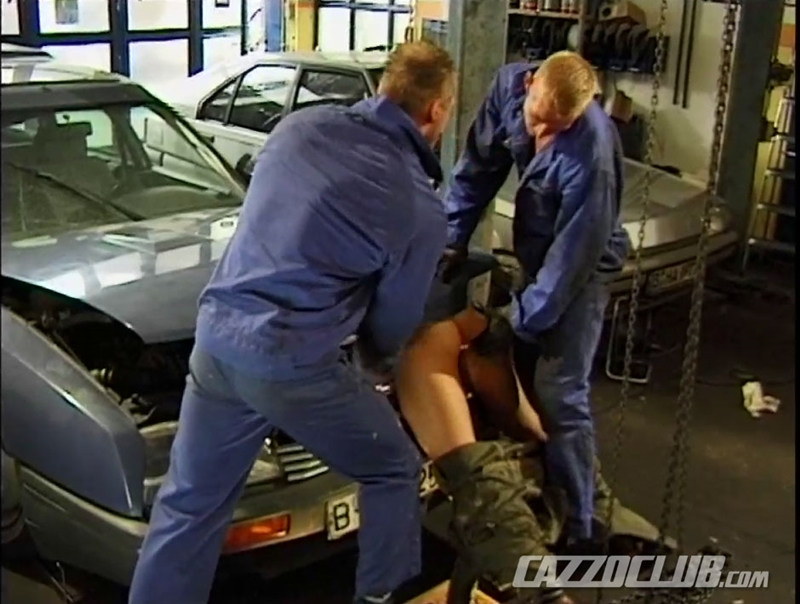 cazzo club  CazzoClub Andy Nickel Jack Janus Patrik Ekberg mechanic car workshop overalls tight ass fingered fuck ass 008 tube download torrent gallery sexpics photo Andy Nickel, Jack Janus and Patrik Ekberg