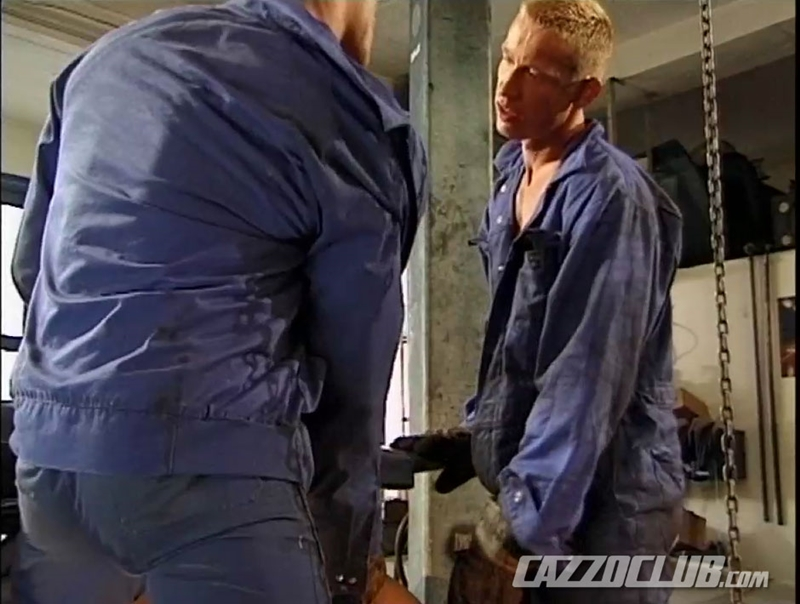 cazzo club  CazzoClub Andy Nickel Jack Janus Patrik Ekberg mechanic car workshop overalls tight ass fingered fuck ass 009 tube download torrent gallery sexpics photo Andy Nickel, Jack Janus and Patrik Ekberg