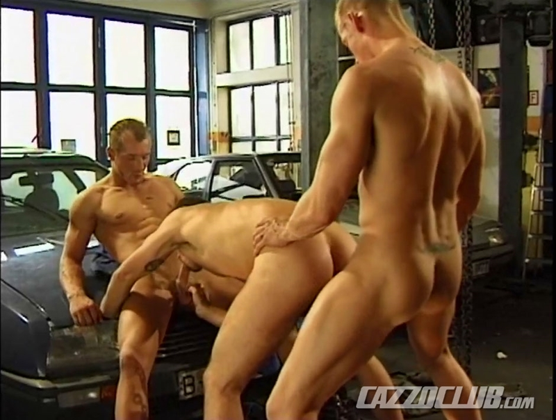 cazzo club  CazzoClub Andy Nickel Jack Janus Patrik Ekberg mechanic car workshop overalls tight ass fingered fuck ass 016 tube download torrent gallery sexpics photo Andy Nickel, Jack Janus and Patrik Ekberg