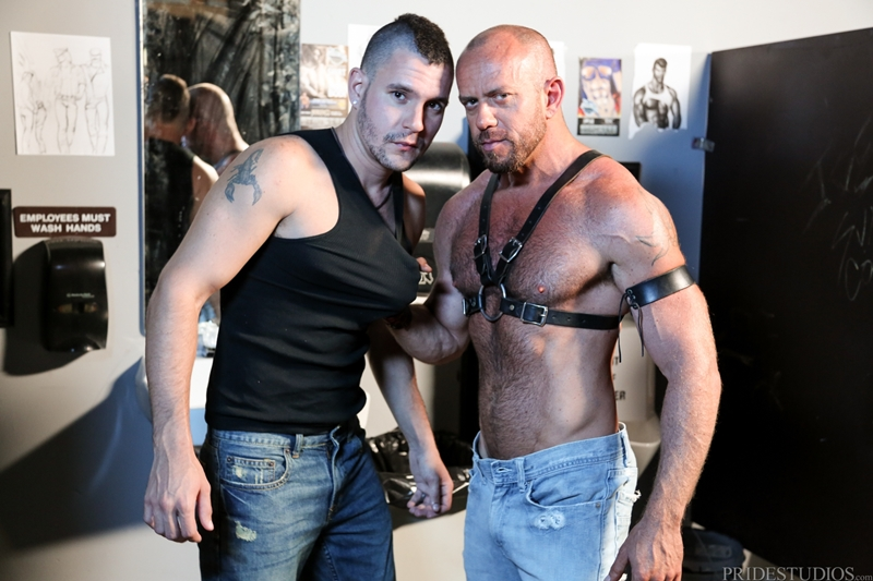 high performance men  Matt Stevens and Bradley Boyd
