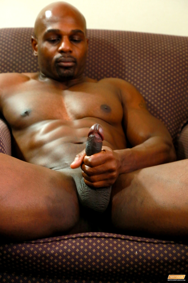 Black men hot muscle