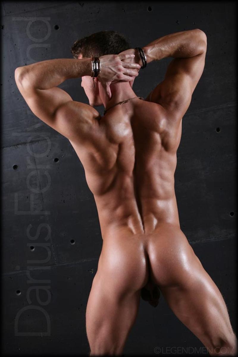 Muscle Video Gay muscle naked bodybuilder darius ferdynand jerking uncut cock