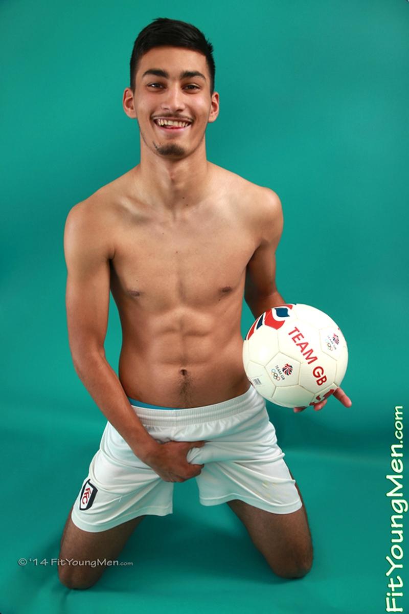 American Football Gay Sex - Young footballer Liam Burlington strips down to his ...