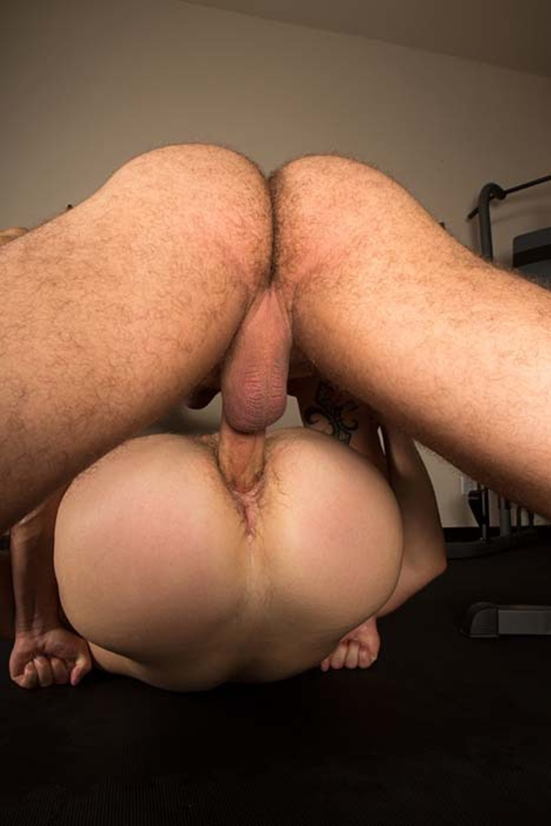 Muscly Studs Enjoy Ass Penetration