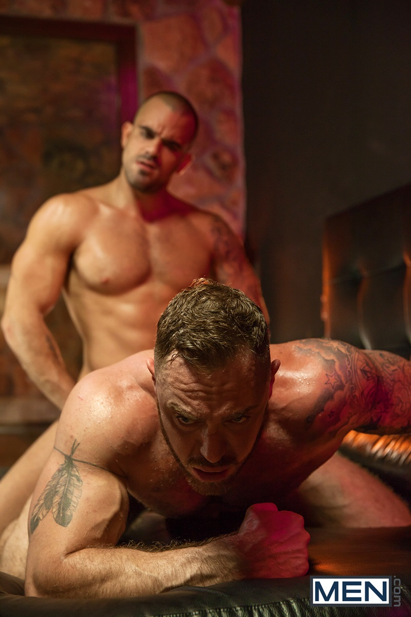 Muscle Men Gay Porn damien crosse and dominique hansson hardcore muscle fucking
