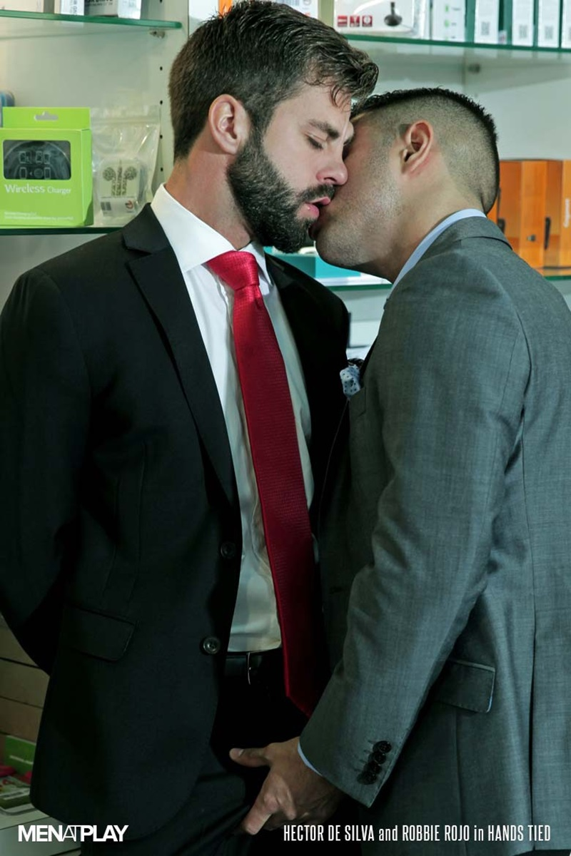 MenatPlay-suited-sex-Robbie-Rojo-sexual-favours-Hector-de-Silva-horny-thick-uncut-Spanish-dick-tongue-deep-rimming-smooth-ass-hole-fucking-11-gay-porn-star-sex-video-gallery-photo
