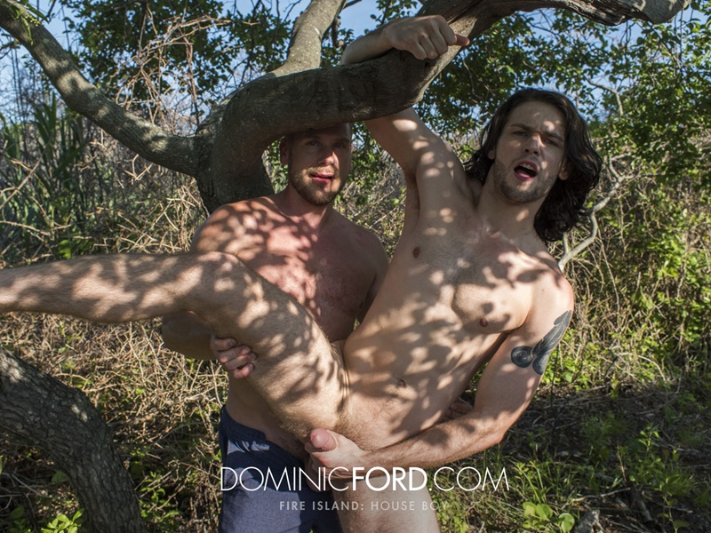 Duncan Black well and truly fucked by Hans Berlin outdoors