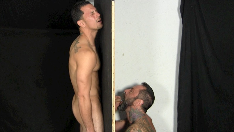 Victor moans loudly as he gets his veiny, uncut cock sucked dry