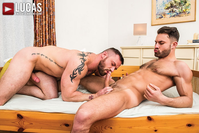 LucasEntertainment-hairy-chest-big-muscle-hunk-Sergeant-Miles-James-Castle-tattoo-ripped-six-pack-abs-massive-erect-dick-fucking-anal-rimming-001-gay-porn-sex-gallery-pics-video-photo