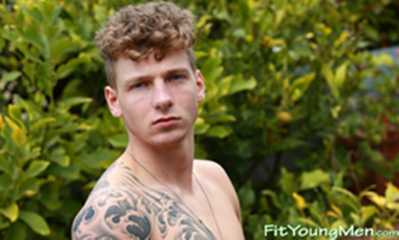 Fit Young Men Famous Ex on the Beach star Brandon Myers