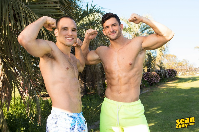 Sean Cody Joey has heard a few things about Frankie's aggressive poundings