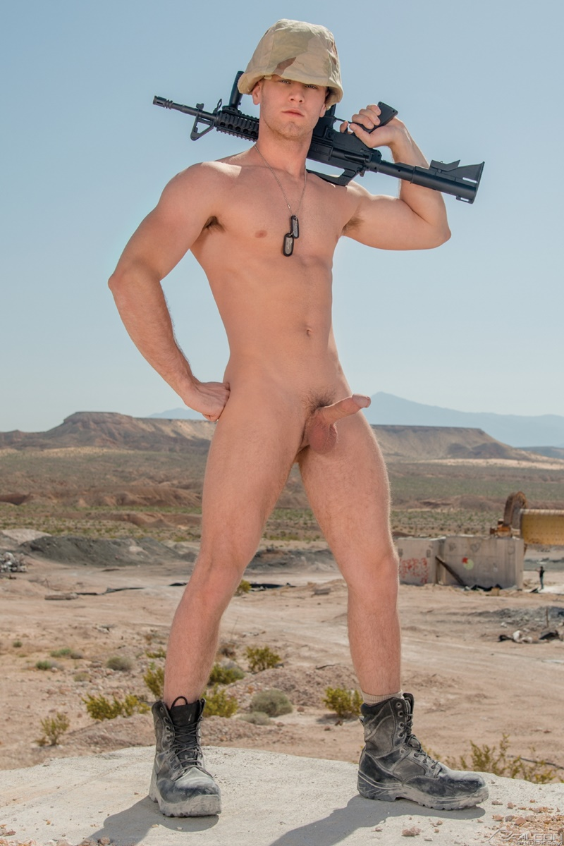Big muscled gay military men sex yes drill 7