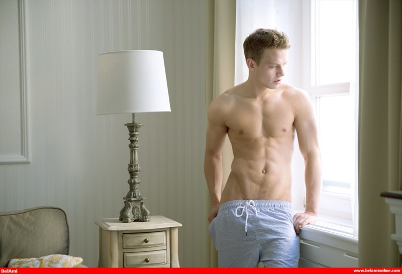 Sexy young European twink Orri Aasen stripped bare