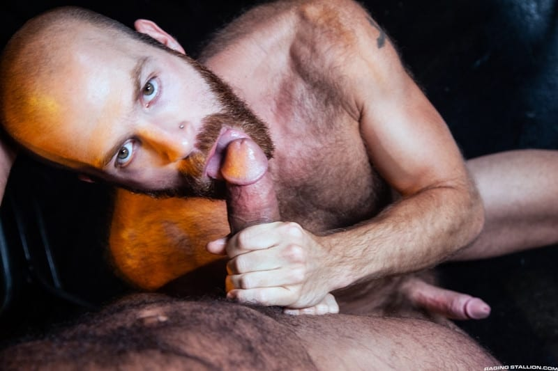 Men for Men Blog James-Stevens-Drake-Masters-hot-tattooed-big-muscle-dudes-cocksucking-huge-throbbing-cock-RagingStallion-002-gay-porn-pictures-gallery James Stevens loves the way Drake Masters' mouth feels wrapped around his huge throbbing cock Raging Stallion