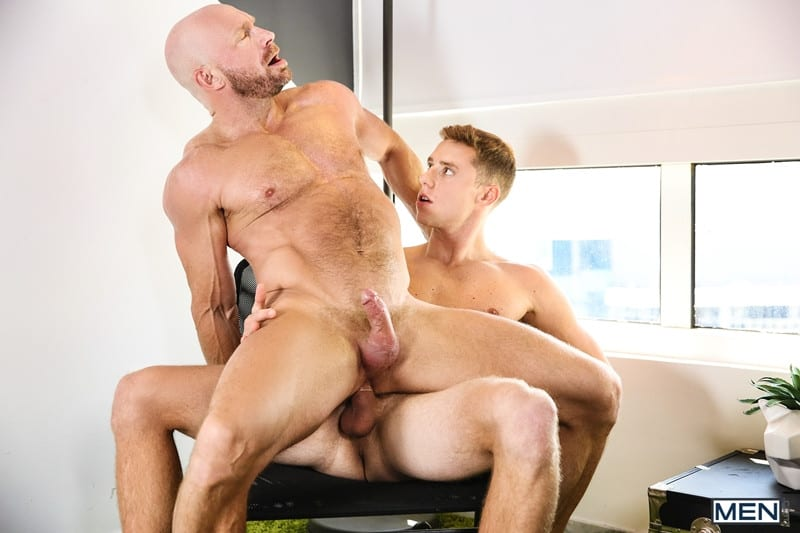 Men for Men Blog Gay-Porn-Pics-019-Justin-Matthews-Killian-Knox-Nipple-Play-Blowjob-Gagging-Ass-Licking-Doggystyle-Men Justin Matthews and Killian Knox hot big dick sucking and ass fucking orgy Men
