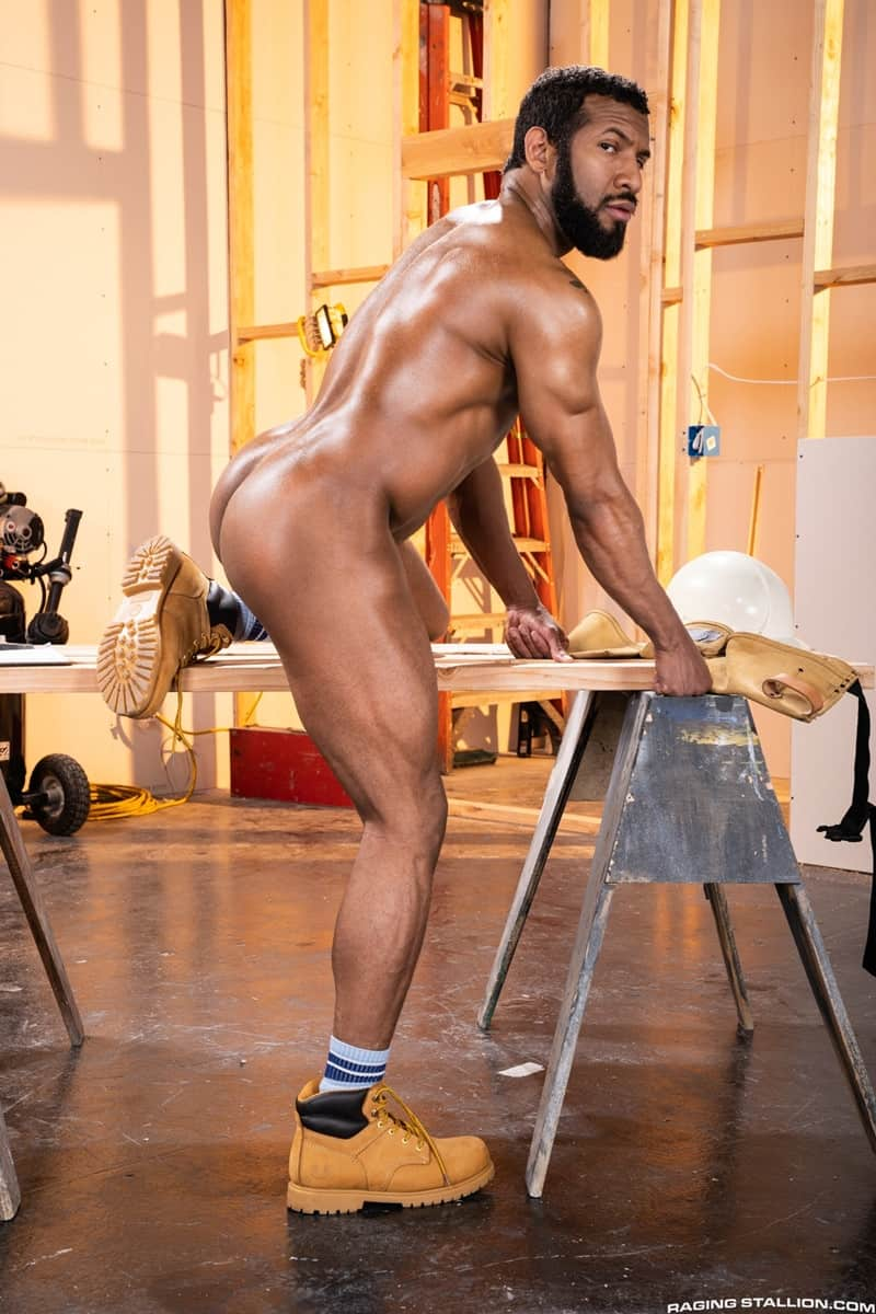 Men for Men Blog Gay-Porn-Pics-008-Derek-Bolt-Jay-Landford-naked-muscle-men-huge-cock-fucking-hot-asshole-RagingStallion Derek Bolt moans with each thrust from Jay Landford's huge cock pummeling his hot asshole Raging Stallion