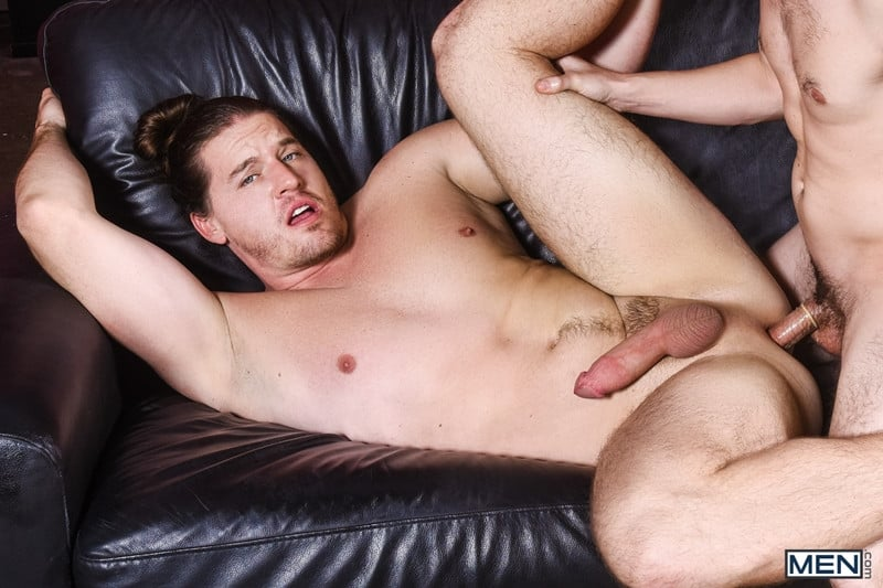 Men for Men Blog Gay-Porn-Pics-016-Will-Braun-Kip-Johnson-Long-haired-muscle-hunk-bottom-boy-big-erect-cock-Men Long haired muscle hunk Kip Johnson bottoms for Will Braun's big erect cock Men