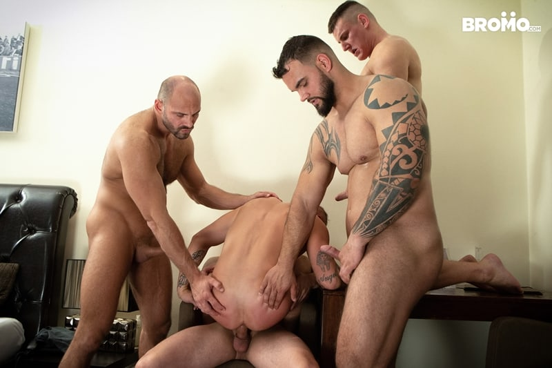 Bromo-Hot-naked-sub-dude-four-masked-men-bareback-fucking-ass-holes-016-gay-porn-pictures-gallery