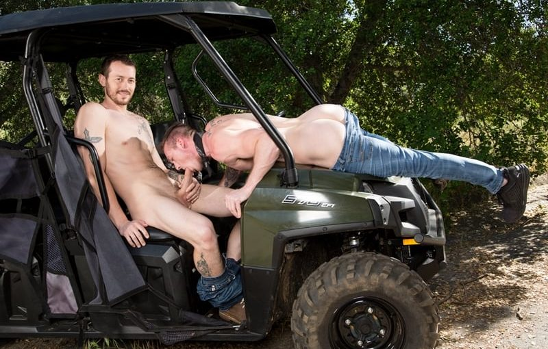 Local farm boys Mark Long and Jackson Cooper fucking assholes