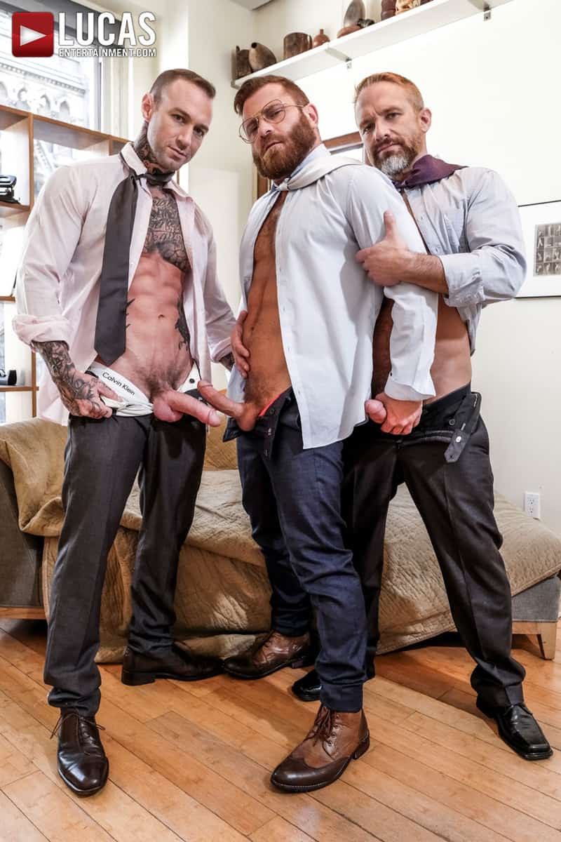 Riley-Mitchel-services-his-bosses-Dylan-James-and-Dirk-Caber-LucasEntertainment-007-Gay-Porn-Pics