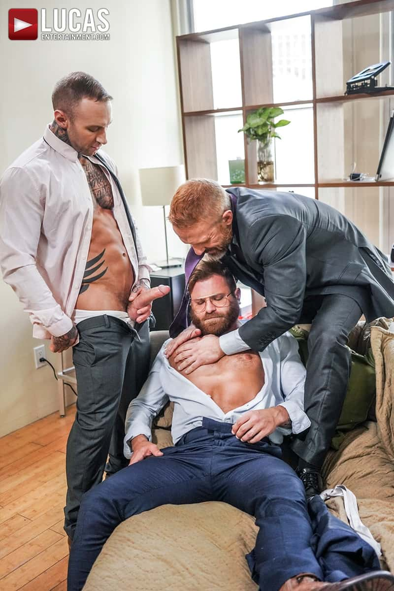 Riley-Mitchel-services-his-bosses-Dylan-James-and-Dirk-Caber-LucasEntertainment-009-Gay-Porn-Pics